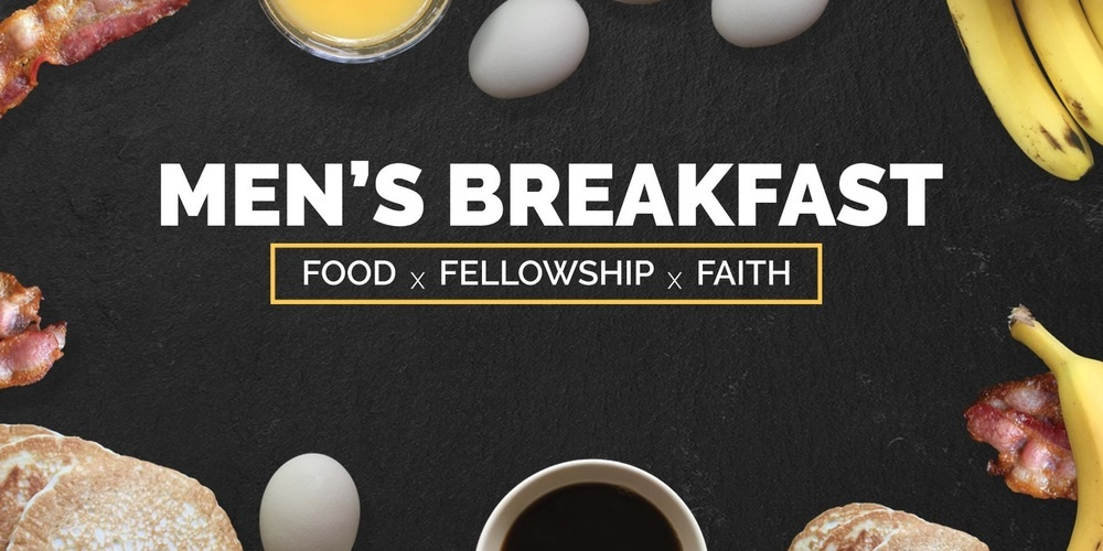 Men's Breakfast Saturday March 24