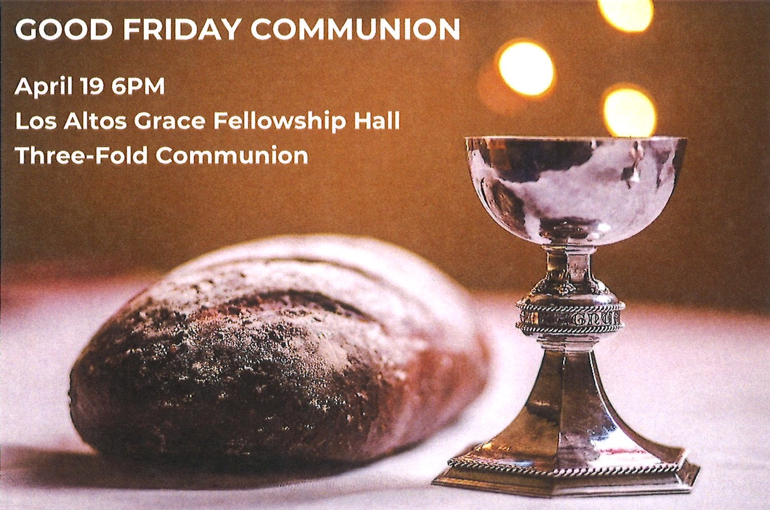 Good Friday Communion
